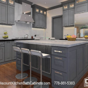 DKBC Cambridage Steel Gray P45 Kitchen 3