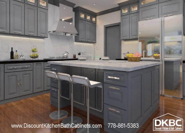 DKBC Cambridage Steel Gray P45 Kitchen 3