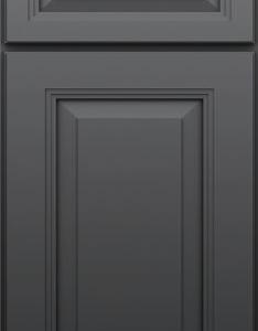 DKBC Cambridage Steel Gray P45 Door