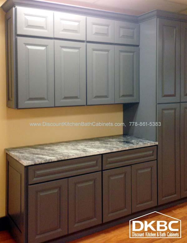 DKBC Cambridage Steel Gray P45 Kitchen 1