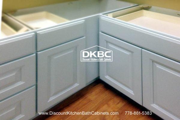 DKBC Cambridage Steel Gray P45 Base cabinets