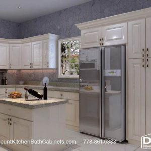 DKBC Cambridge Taupe Gray P46 kitchen