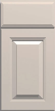 DKBC Cambridge Taupe Gray P46 door