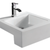Bathroom Ceramic Drop in Sink BCS4076C-0