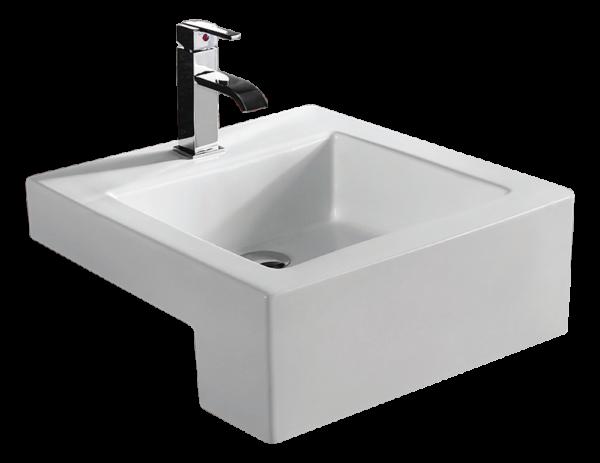 Bathroom Ceramic Drop in Sink BCS4076C-0