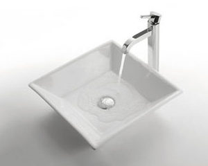 Bathroom Ceramic Vessel Sink (BVSJ009)