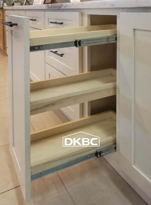 Lien White Shaker Kitchen Cabinets (M49)