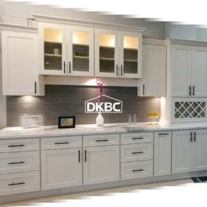 Lien White Shaker Kitchen Cabinets (M49)