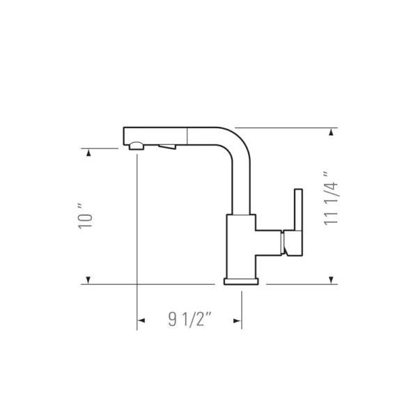Kitchen Faucet KPF-PL815 - OLIVIA-4383