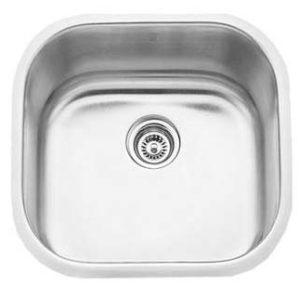 "20""x20"" Quality Under-mount Single-bowl Kitchen Sink (KUS_MK620)"