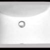 "18""x12"" White Rectangular Ceramic Bathroom Sink (UBG-3906/C018A)"