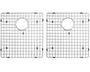 Bottom Grid Set for Double Bowl Kitchen Sink (KAR3318D)