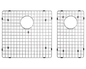 Bottom Grid Set for Double Bowl Kitchen Sink (KAR3318D73)