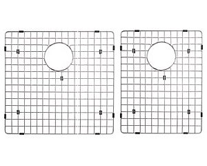 Bottom Grid Set for Double Bowl Kitchen Sinks (KAR3618D64)-0