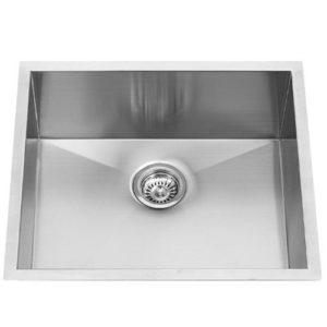 "16x16x9"" Zero Radius Stainless Steel Kitchen Bar Sink (KUS_A1616)"