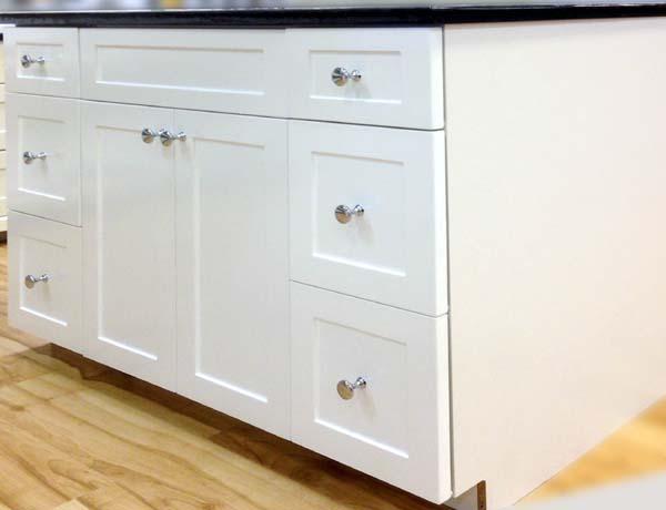 "48"" White shaker vanity (Clearance)-5350"
