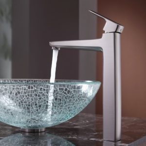 BVGJ011 - Bathroom Hand Made Glass Vessel Sink