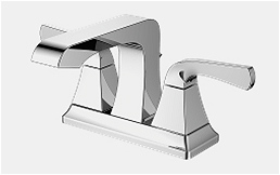 Two handles bathroom faucet-18277GW1C-0