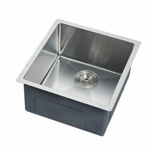 DKBC 1718 Under Mount Small Radius 16 Gauge SS Kitchen Bar Sink