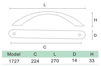 DKBC Handles-HDL1727
