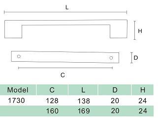 DKBC Handles-HDL1730