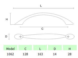 DKBC Handles-HDL1062