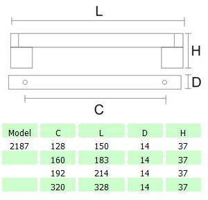 DKBC Handles-HDL2187