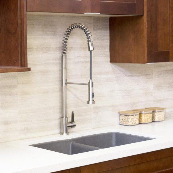 Pull-down Kitchen Faucet KPF-PL842-SS - LUCAS-4350
