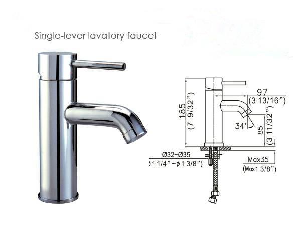 DKBC Lavatory Faucet (BLFT-433C)