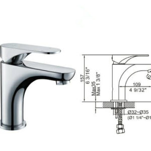 DKBC Bathroom Lavatory Faucet (BLFT-565C)