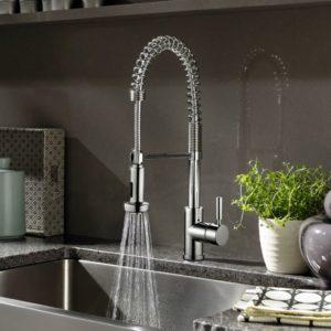 Kitchen Faucet KPF-PL852R - SPRING SPOUT-4435