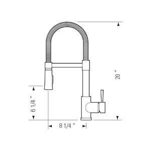 Kitchen Faucet KPF-PL811 - SOFI-4469