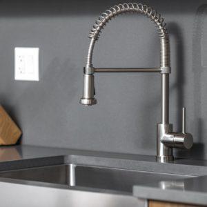 Kitchen Faucet KPF-PL852R BN - SPRING SPOUT-0