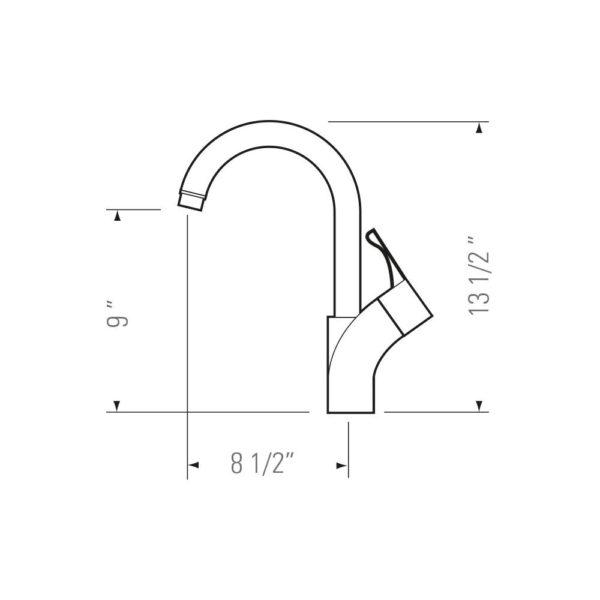 Kitchen Faucet KPF-PL832 - Tanner-4494