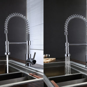 Pull Out Kitchen Faucet (KPFK-86965 CP)-4714