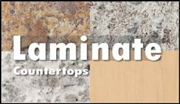 All name-brand laminate countertops