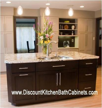 Espresso Shaker Walnut Kitchen Cabinets G5 Dkbc Discount Kitchen Bath Cabinets