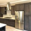 Stone Gray Shaker Solid Wood Kitchen Cabinets Q52