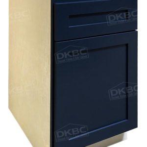 blue shaker kitchen cabinets