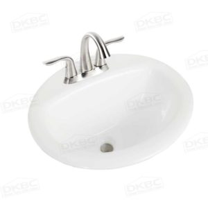 Project source Drop-in Round ceramic sink