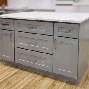Ready-to-install Solid wood kitchen island combo