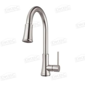 Pfister Classic Kitchen Faucet, Stainless Steel Finish